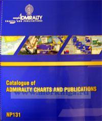 Каталог Адмиралтейских Карт и Пособий. Catalogue of Admiralty Charts and Publications. NP 131