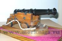 Макет корабельной пушки XIX века