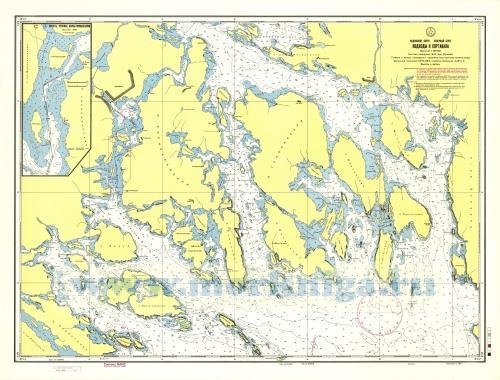 карта ладоги для рыбалки
