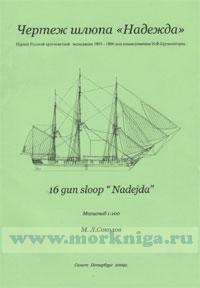 Чертежи кораблей Российского флота. Шлюп