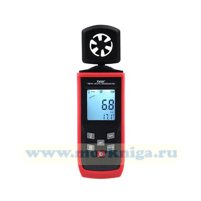 Анемометр цифровой с поворотным датчиком TA8161
