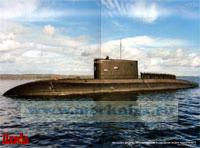 Большая дизель-электрическая подводная лодка проекта 877. Постер