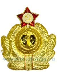 Кокарда ВМФ СССР, офицерская