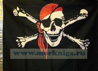 Флаг пиратский 90х65