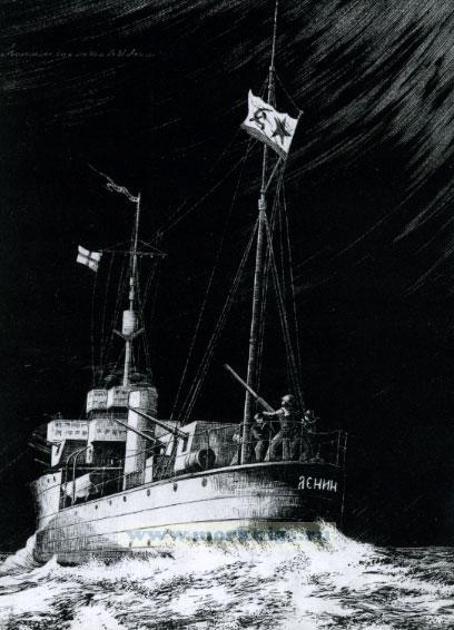 """""""Советские корабли Второй мировой войны"""". Набор открыток"""