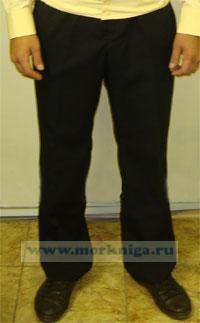 Брюки офицерские, ВМФ (черные) (170-104-92, 52-3)
