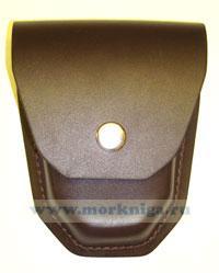 Держатель для наручников формованный (коричневый)