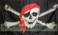 Флаг пиратский 65х90