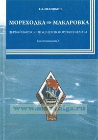 МОРЕХОДКА Макаровка. Первый выпуск инженеров морского флота (воспоминания)