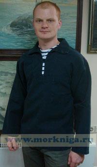 Рубашка мужская NEMO синяя