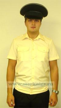 Рубашка кремовая ВМФ, офицерская с коротким рукавом (182-88-70-38 (44-5))