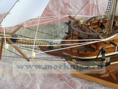 Модель немецкого фрегата XVII века