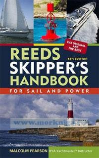 Reeds Skipper's handbook. For sail and power. 6th edition