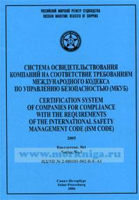 Бюллетень № 1 к системе освидетельствования компаний на соответствие требованиям МКУБ