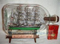 Корабль в бутылке. «Крузенштерн»