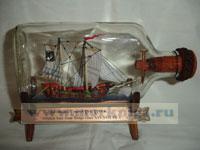 Корабль в бутылке. Волжский Ушкуй XVI-XVII в.