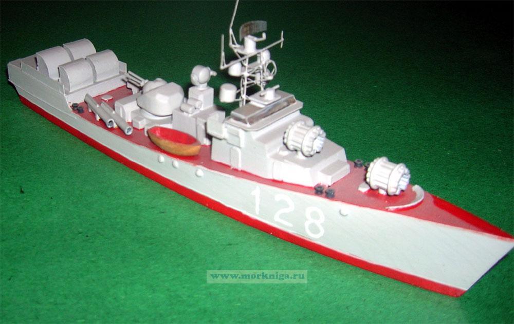 Модель корабля пр. 204
