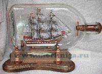 Корабль в бутылке. Линейный корабль «Слава Екатерины».