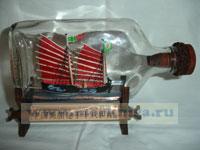 Корабль в бутылке. Китайский торговый корабль XVII в.