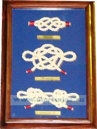Панно Морские узлы