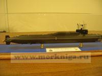 Макет атомной подводной лодки проекта 667 Б