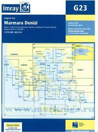 G23 Marmara Denizi 1:275000 WGS 84 редакция май 2012