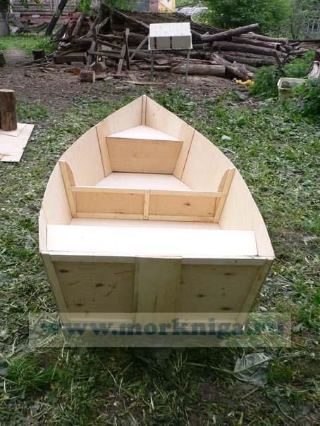 Такую лодку можно изготовить самостоятельно и всего за несколько дней.  Основным материалом для лодки будет...