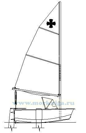 Простая в постройки и эксплуатации маленькая парусная лодка может быть рекомендована начинающим яхтсменам независимо...