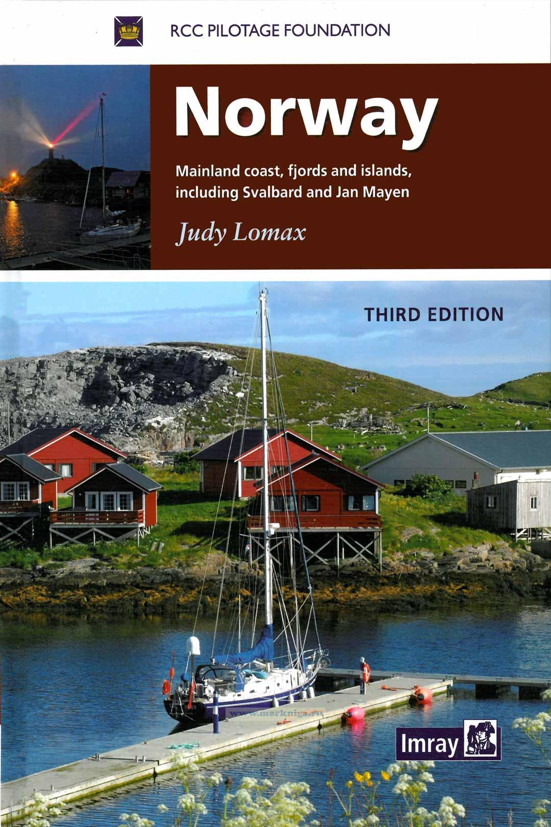 Norway Норвегия. Материковое побережье, фьорды и острова, включая Шпицберген и Ян-Майен 3е издание
