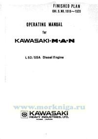 Operating manual for Kasawaki MAN L52/55A Diesel Engine