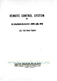 Remote control system for Kasawaki MAN L52/55 Diesel Engine