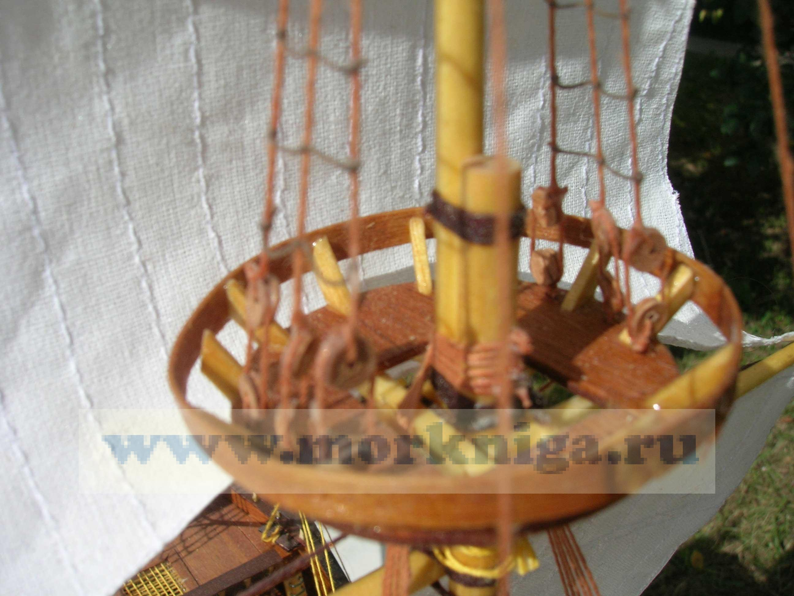 """Модель """"Золотая лань. Gold Hilt"""" XVI век"""
