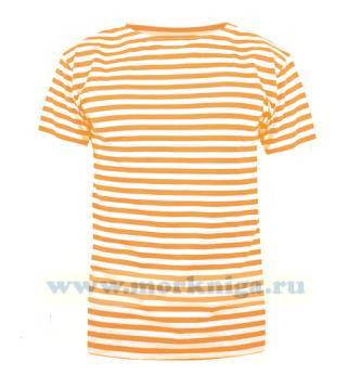 Тельняшка футболка оранжевая полоса (МЧС)
