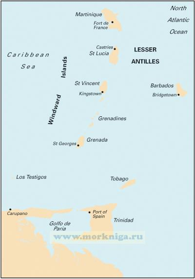 B Martinique to Trinidad