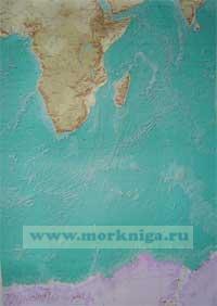Мировой океан. Адм. № 90095 Карта настенная