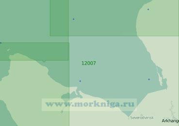 12007 Двинский залив (Масштаб 1:200 000)