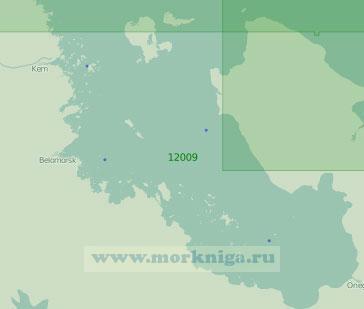 12009 Онежский залив (Масштаб 1:200 000)