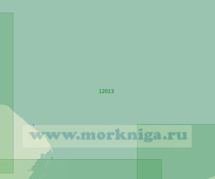 12013 От острова Колгуев до маяка Ходовариха (Масштаб 1:200 000)