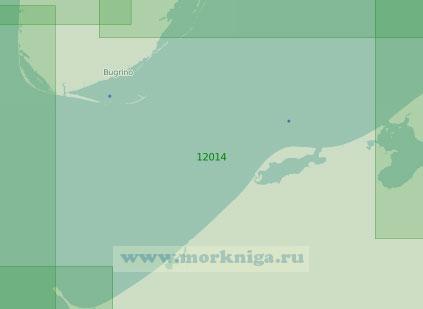 12014 От мыса Святой Нос (Тиманский) до губы Колоколкова (Масштаб 1:200 000)
