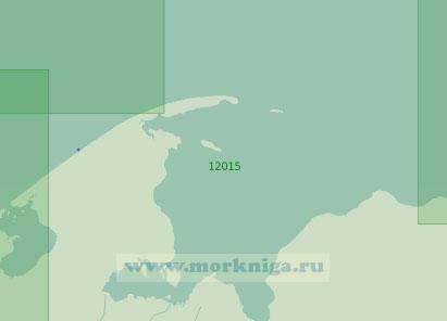 12015 От губы Колоколкова до мыса Черная Лопатка с Печерской губой (Масштаб 1:200 000)
