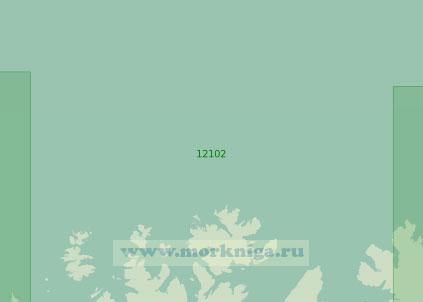 12102 От мыса Тархалсен до мыса Нордкин (Хиннародден) (Масштаб 1:200 000)