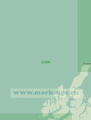 12106 От острова Аннёйа до острова Хадселёйа (Масштаб 1:200 000)