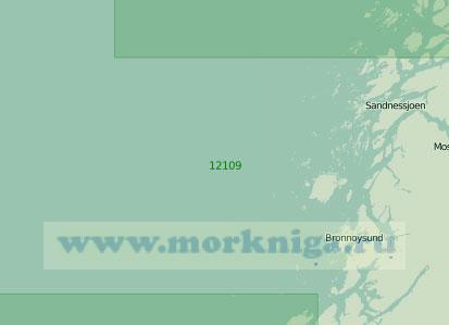 12109 От островов Склинна до островов Трена (Масштаб 1:200 000)