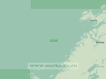 12110 От островов Склинна до островов Сула (Масштаб 1:200 000)