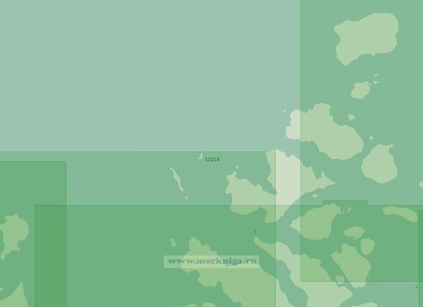 12214 От острова Артура до острова Рудольфа (Масштаб 1:200 000)