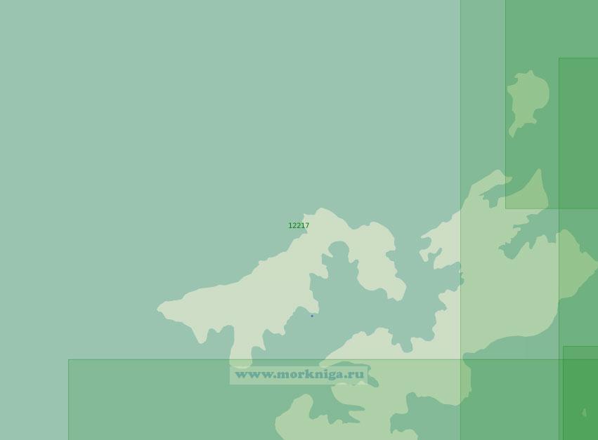 12217 Западная часть Земли Франца-Иосифа (Масштаб 1:200 000)