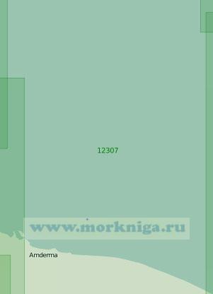 12307 От бухты Рифовая до реки Пульседаяха (Масштаб 1:200 000)