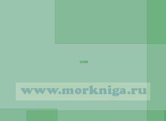 12326 Район к западу от острова Уединения (Масштаб 1:200 000)