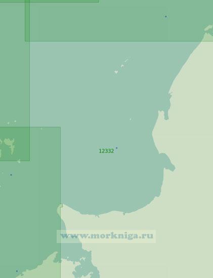 12332 От бухты Книповича до мыса Полуостровной (Масштаб 1:200 000)