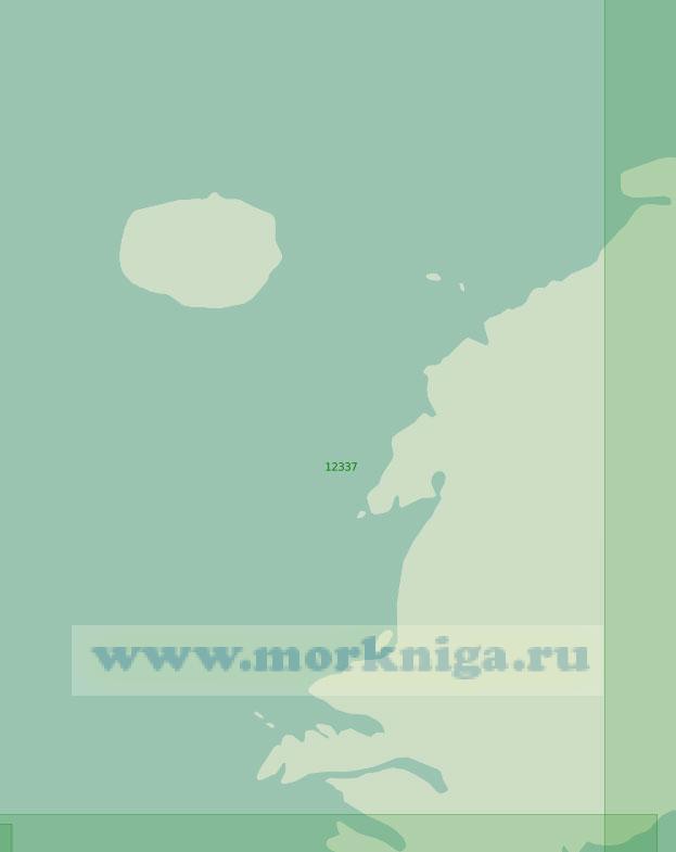 12337 От острова Пионер до мыса Арктический (Масштаб 1:200 000)